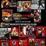 フィリピン マニラでのタンゴフェスティバルにDJ,ゲストダンサーとして参加させていただきます。